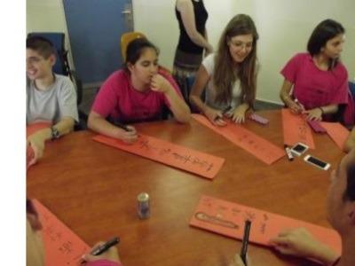 תלמידים מפרוייקט התיכונים סין מבקרים באוניברסיטה