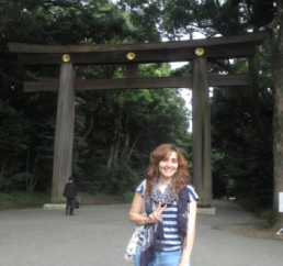 רחל רואס - זוכת מלגת אוטווה ביפן