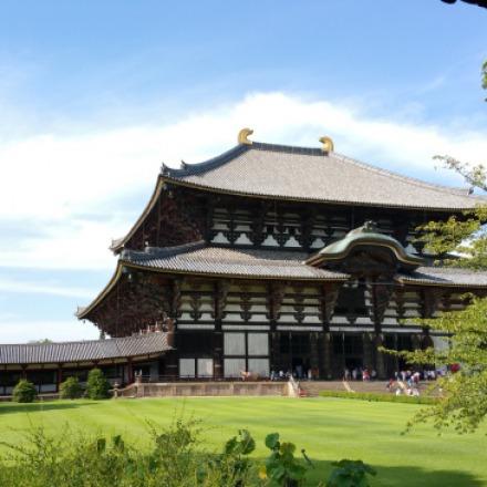 תמונה של מקדש יפני