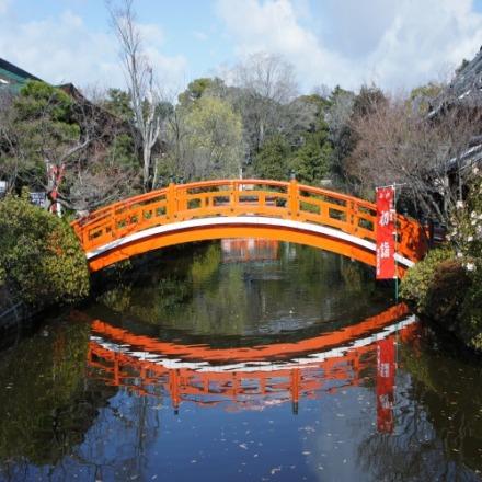 תמונה של גשר בקיוטו