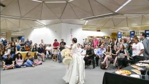 טקס פתיחת אוסף הספרים האסייתים בספריה המרכזית