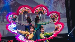 מופע מסורתי שבוע קוריאה